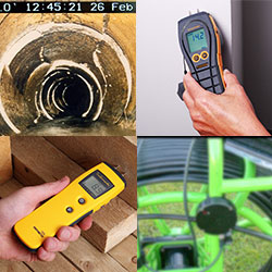 Inspection equipment for the construction industry