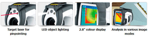 LaserLiner ThermoCamera Compact Features