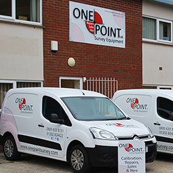 One Point Survey Hire Fleet - Vans