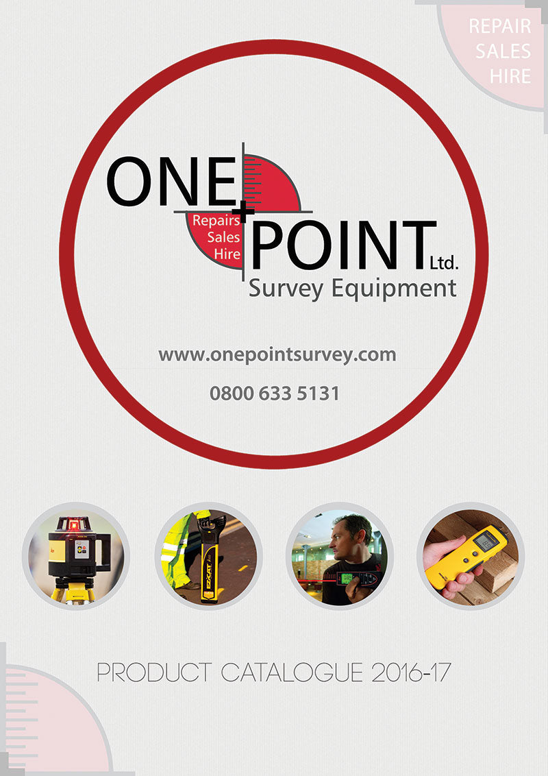 Brochure Front Cover - One Point Survey Equipment