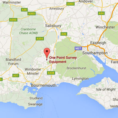 Two-Way Radio Hire Bournemouth - One Point Survey Equipment branch in Verwood, Dorset