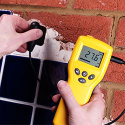 Accessories including damp meters, radio systems and more.