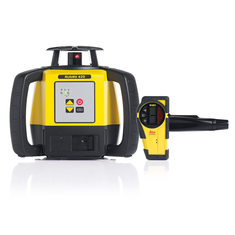 Leica Rugby 620 Laser Level with Basic Rod Eye Receiver