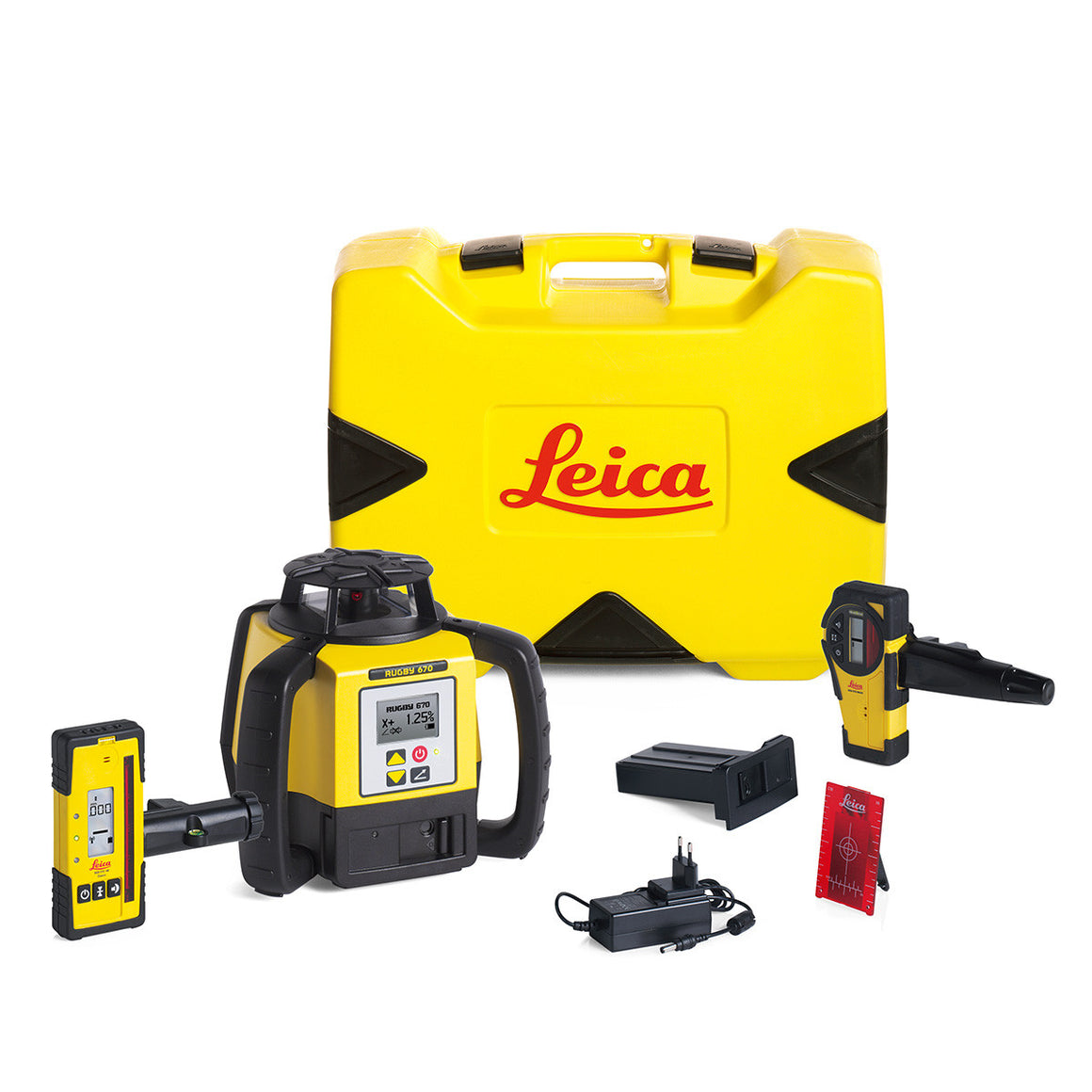 Leica Rugby 670 Single Grade Laser Level