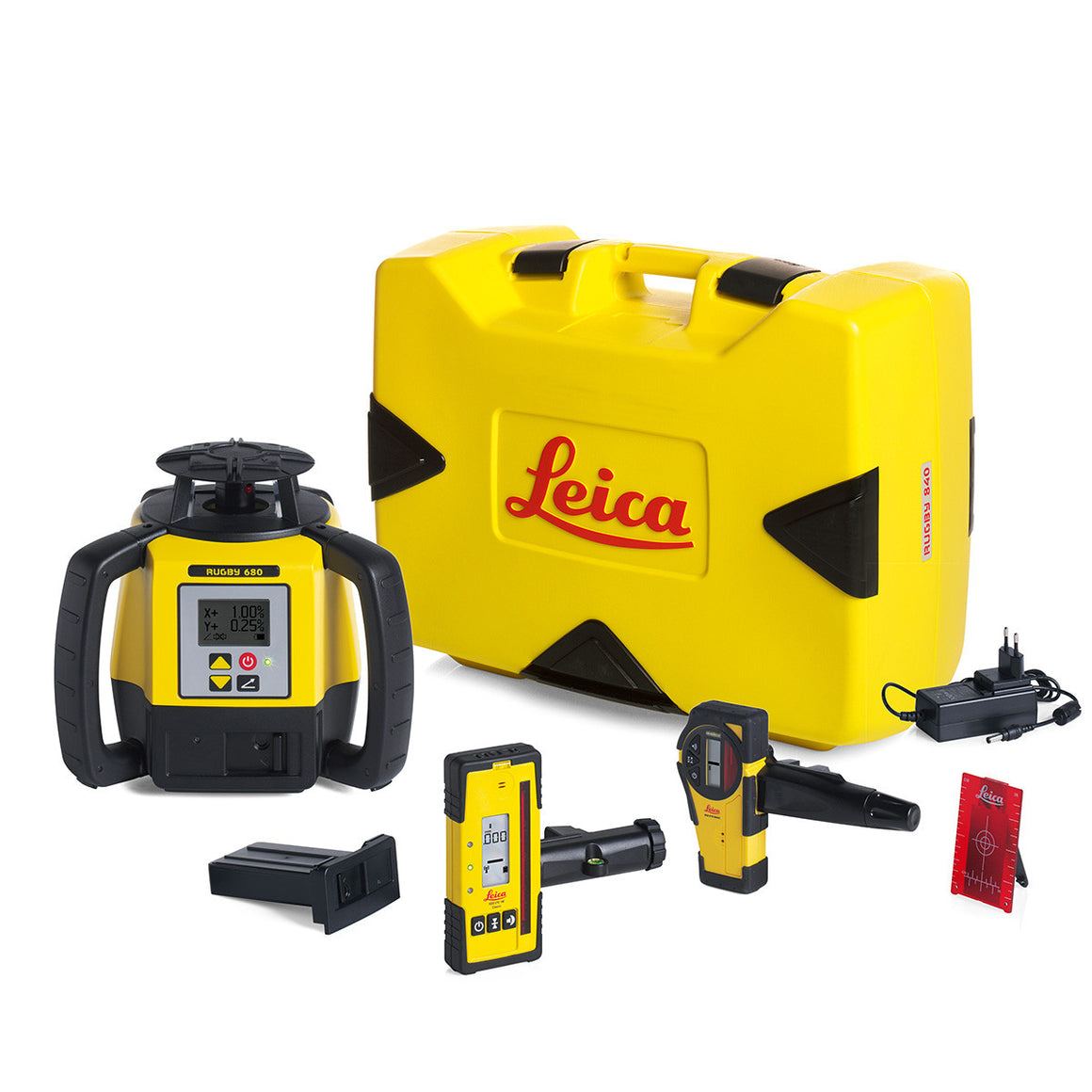 Leica Rugby 680 Single Grade Laser Level