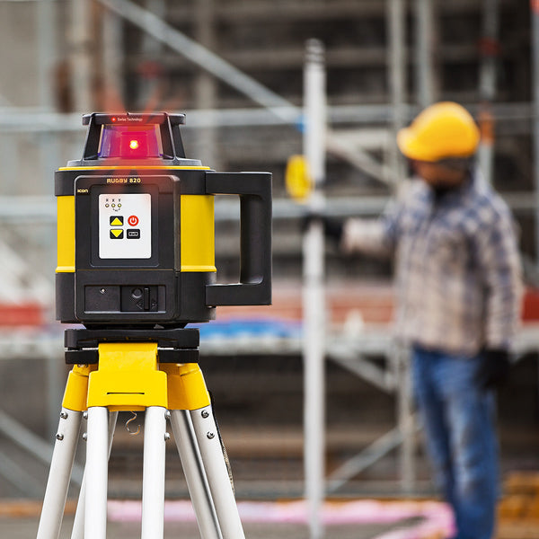 Leica Rugby 820 Laser Level One Point Survey Equipment