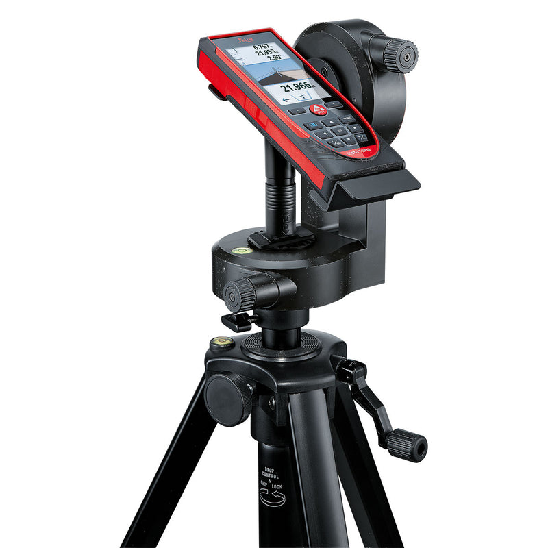 Leica DISTO™ S910 Laser Distance Meter being used to calculate angles