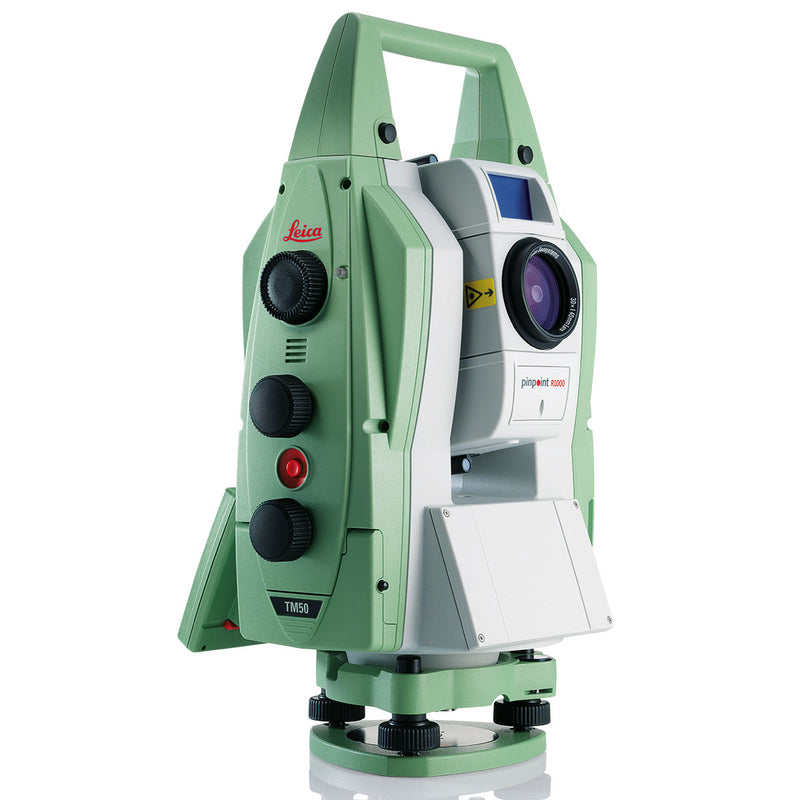 Leica Nova TM50 Total Station from the side