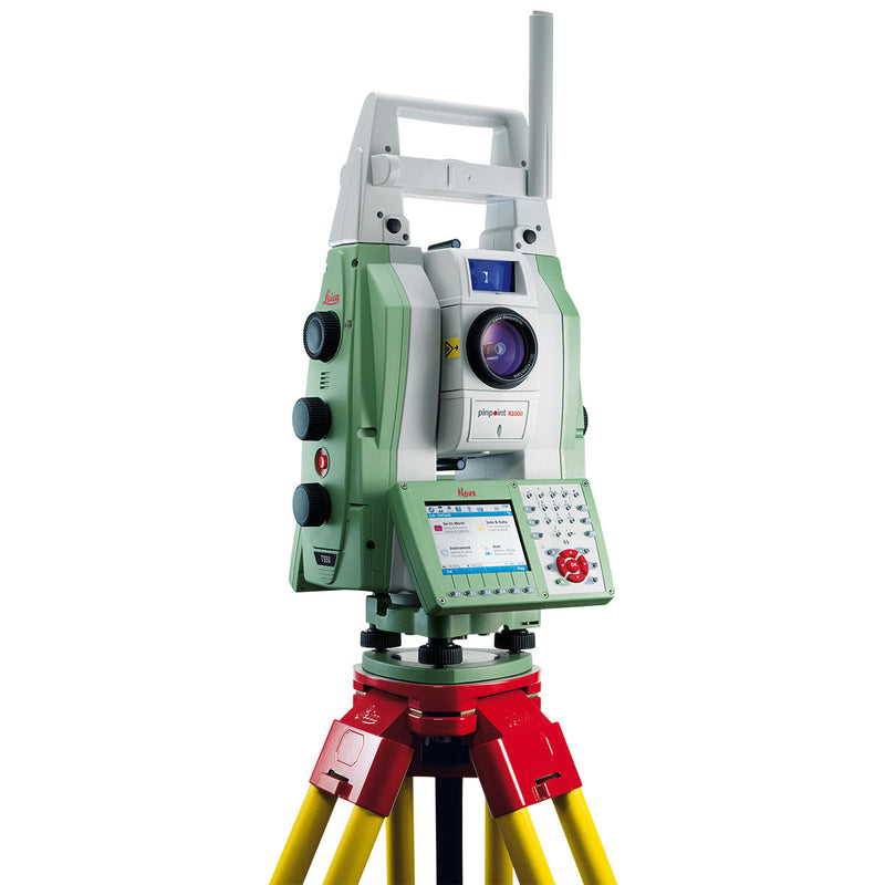 Leica Nova TS50 Total Station with tripod