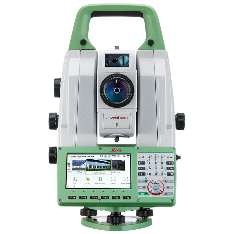 Leica Nova TS60 Total Station from the front