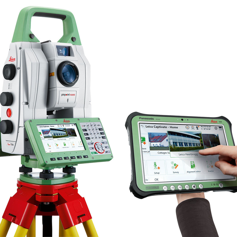Leica Nova TS60 Total Station with CS35 controller