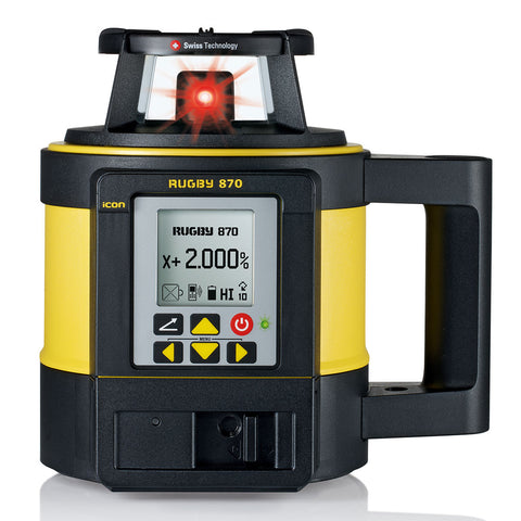 Leica Rugby 870 Single Grade Laser Level