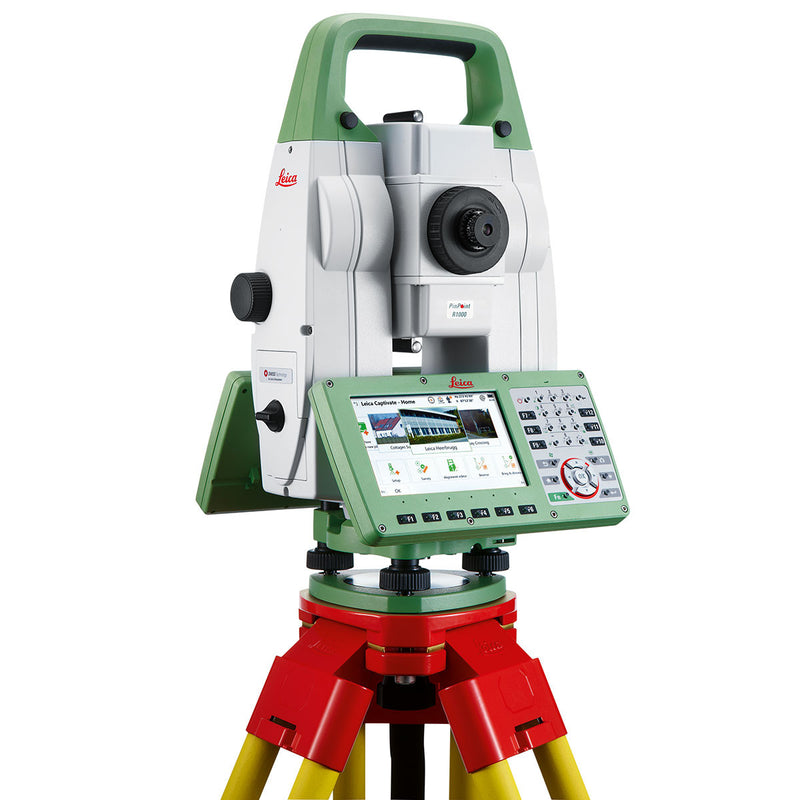 Leica Viva TS16 Total Station with tripod
