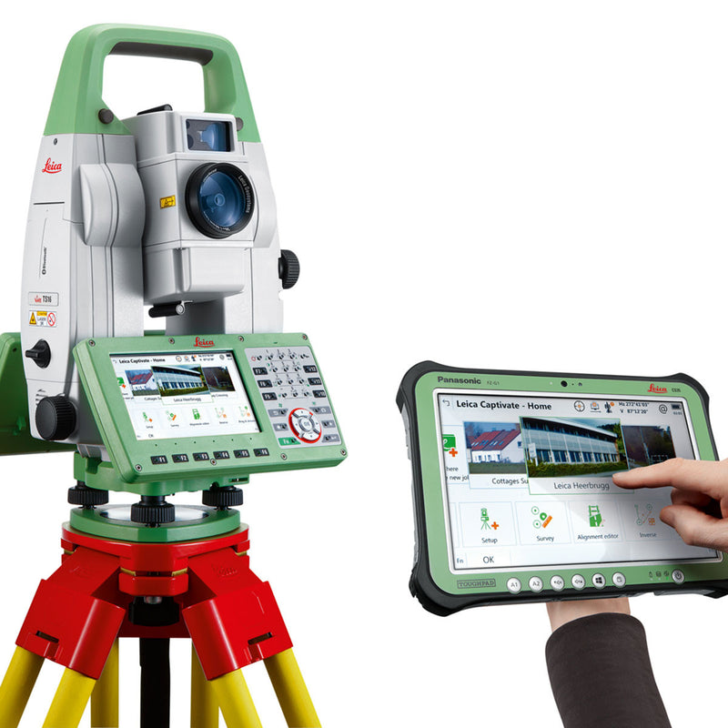 Leica Viva TS16 Total Station with Leica CS35
