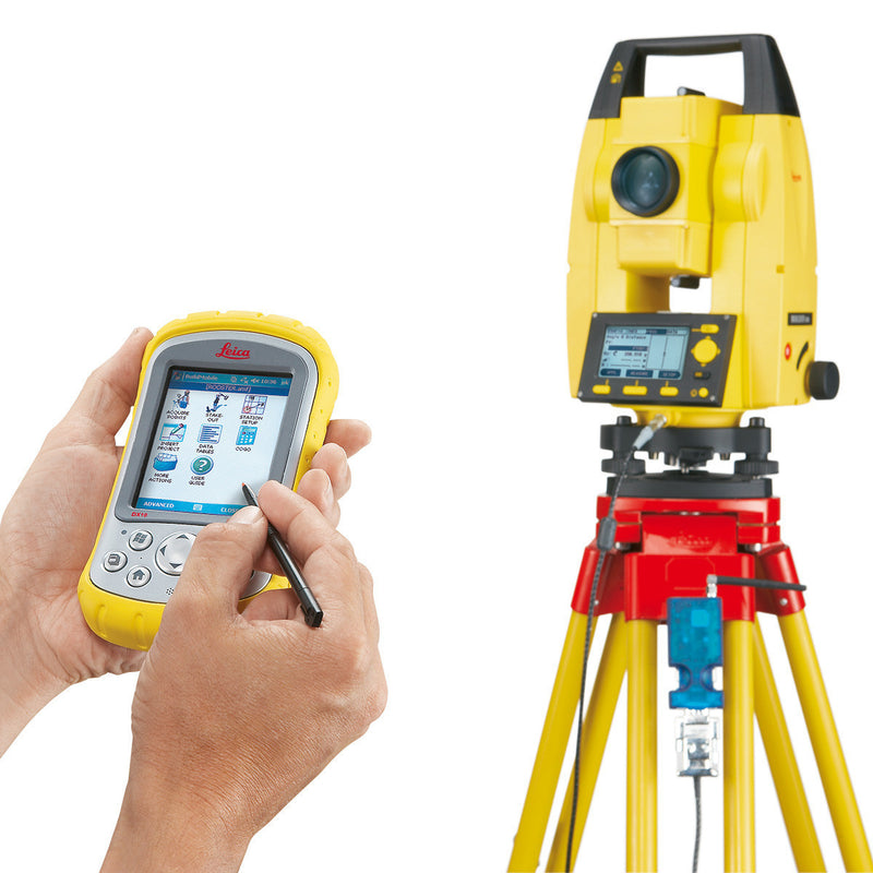 Leica Builder 400 Theodolite with handheld controller