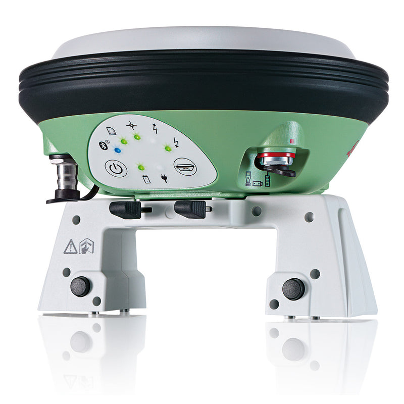 Leica Viva GS14 Base and Rover on stand