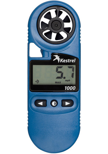 Kestrel 1000 Hand Held Wind Meter