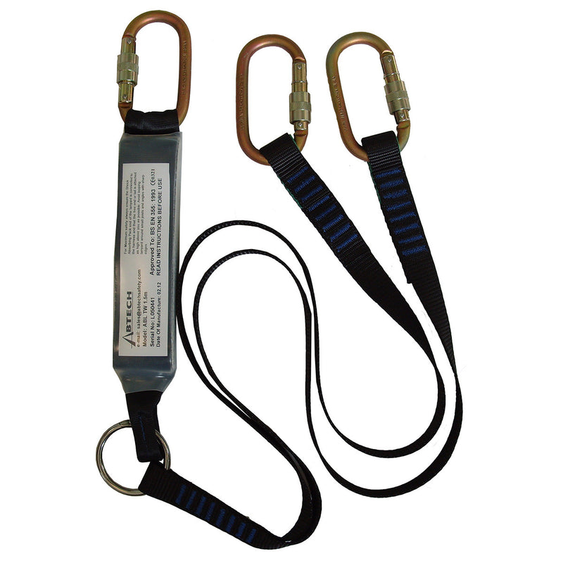 ABLTW - Shock Absorbing Twin Lanyards