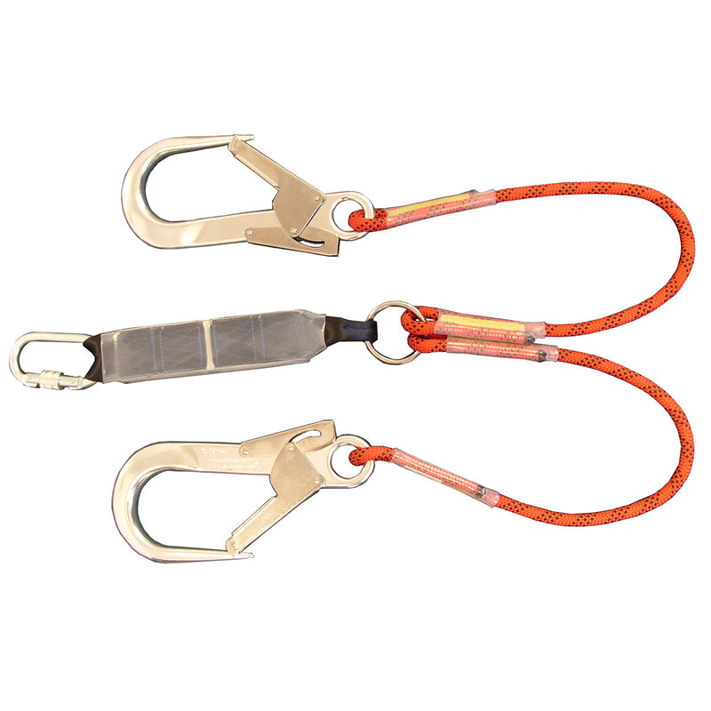 ABTRL125SH - Twin Shock Absorbing Rope Lanyard