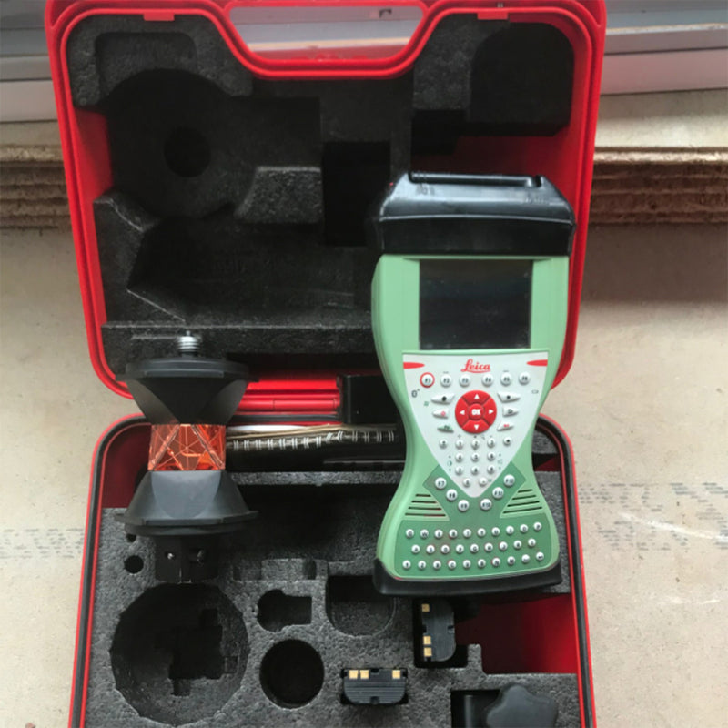 Leica TS12 R400 Robotic Total Station with CS15 Field Controller - Used