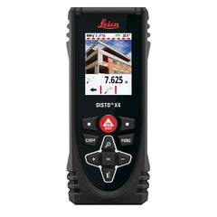 Leica DISTO X4 Laser Measure - Available at One Point Survey - A Buyers Guide To Laser Distance Measures