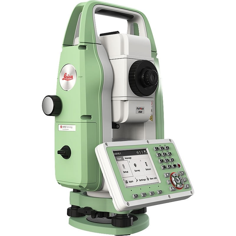 FlexLine TS03 Total Station from the side