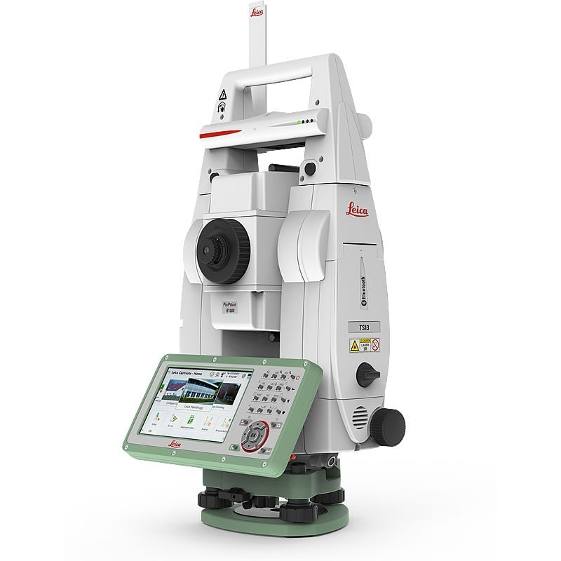 Leica Viva TS13 Total Station with control panel