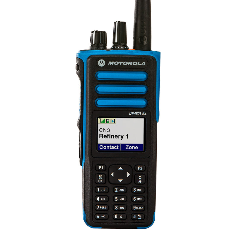 Motorola DP4801 Ex ATEX-Certified Portable Radio