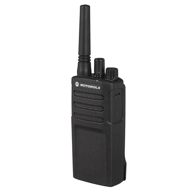 Motorola XT420 Radio from the side