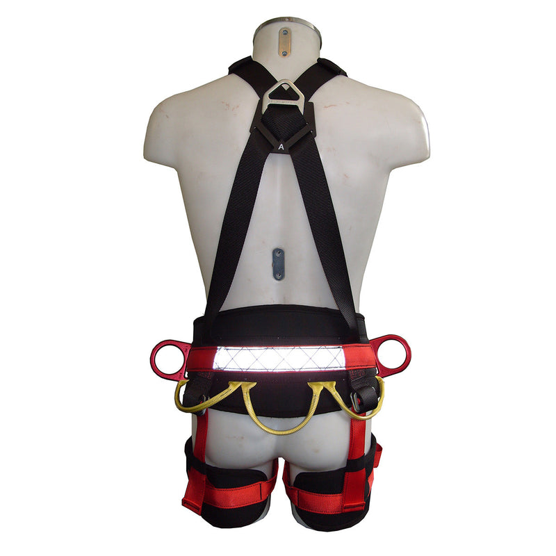 Access Pro Safety Harness from the back