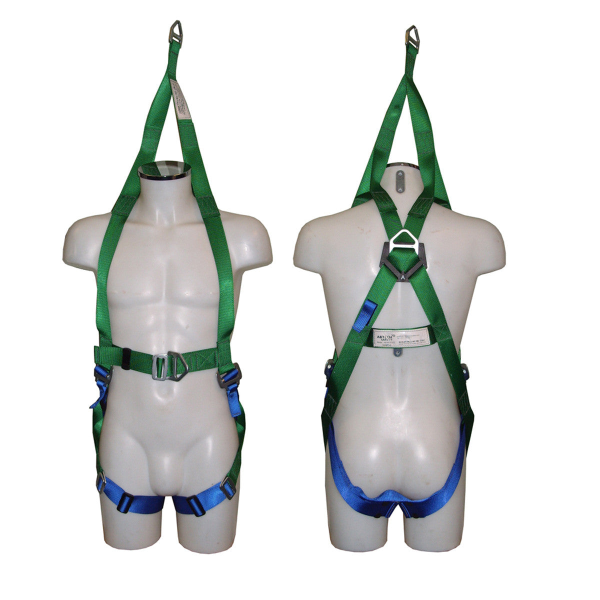 1 Point Safety >> Abtech Abres Three Point Rescue Harness One Point Survey Equipment
