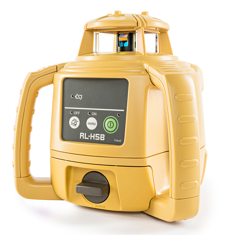 Topcon RL-H5B Rotating Laser Level from the side