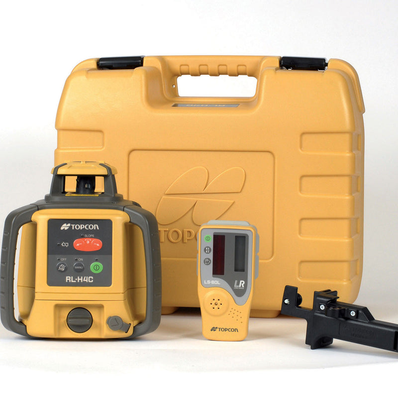 Topcon RL-H4C Laser Level with accessories