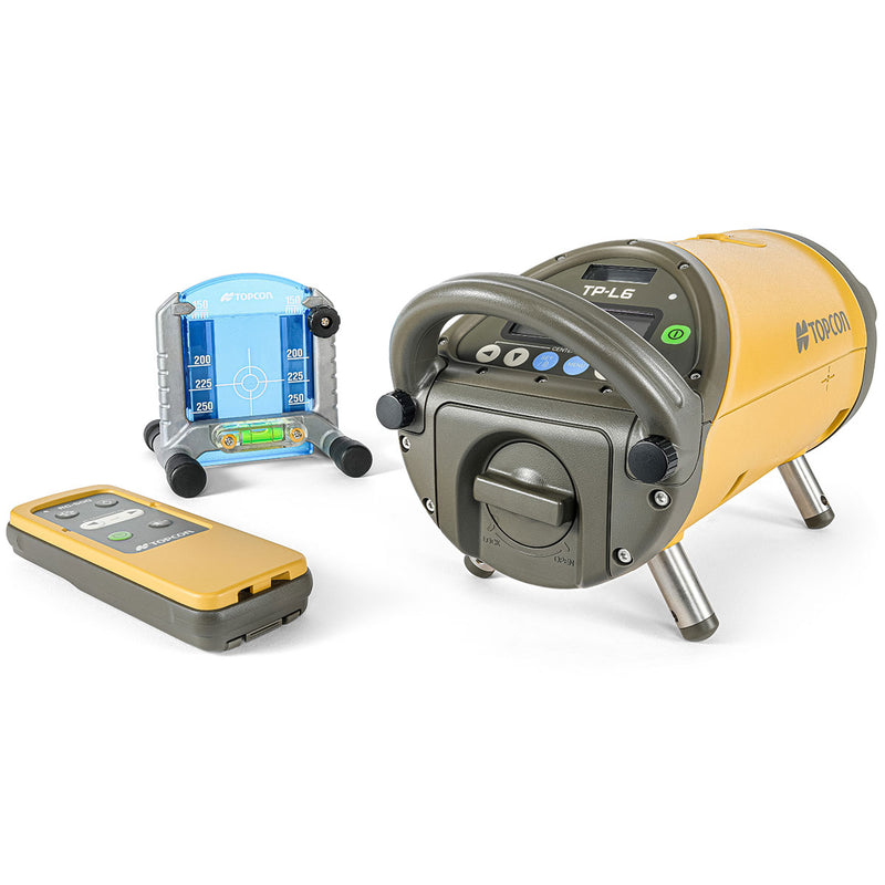Topcon TP-L6 Pipe Laser with controller and target