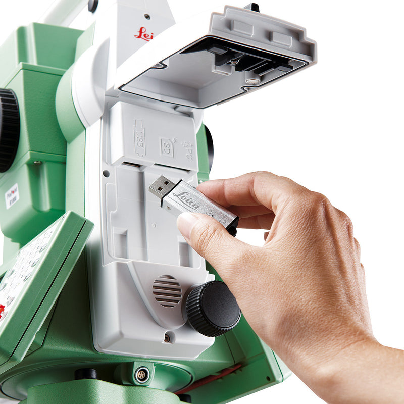 Leica Viva TS11 Total Station with USB connection