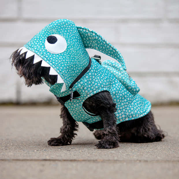 Shark Hoodie Jacket with Backpack - Limited Edition - Water-repellent 1