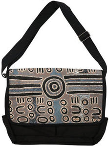 Laptop Satchel Bag Timms Blue/Grey
