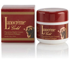 Lanocreme Gold Placenta Night Cream 75g