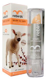 Rebirth Lanolin Lip Balm - 3.7g