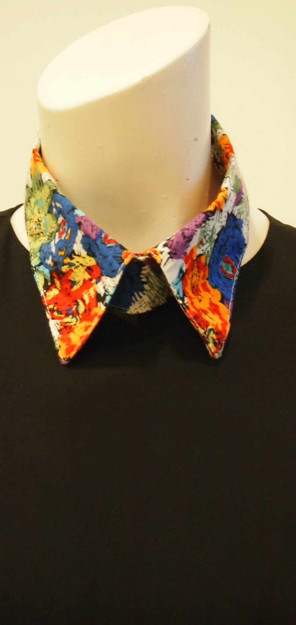 Colourful Floral Handmade Collar