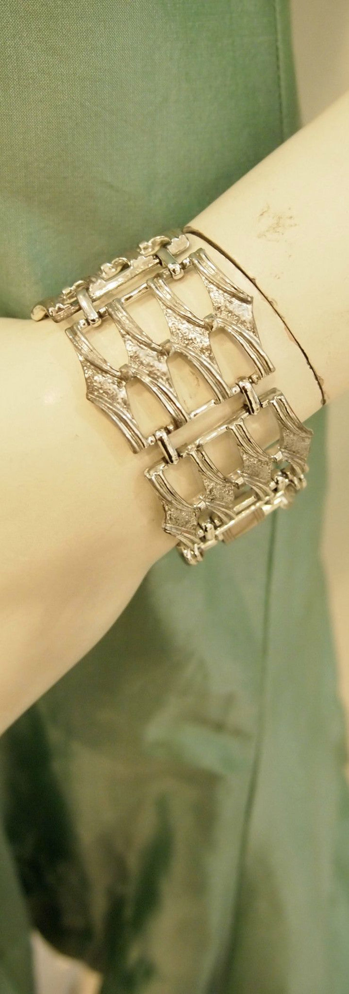 Wonderful Weave Statement Vintage Bracelet