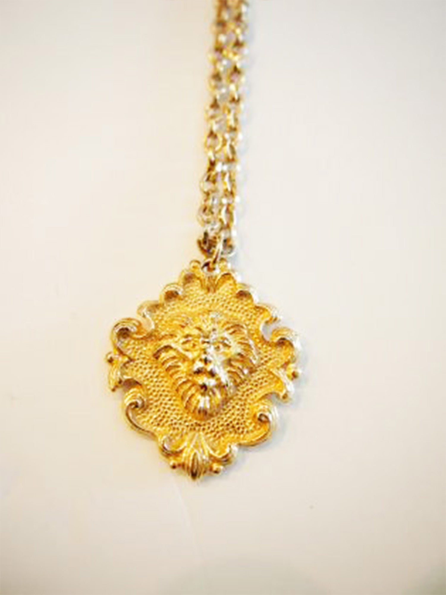 The Lion's Mane Event Vintage Necklace