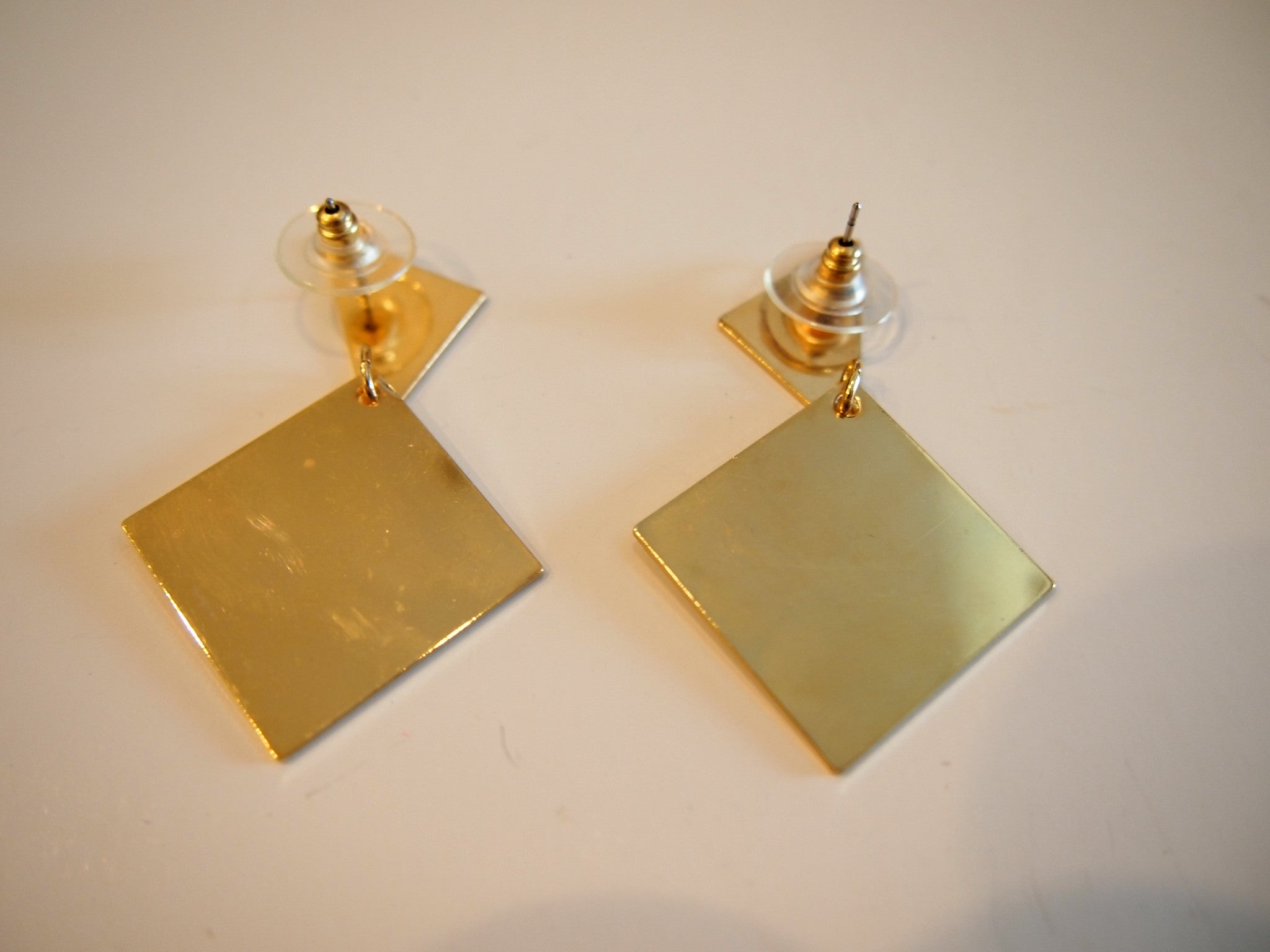 Geometric Glam Vintage Deadstock Earrings