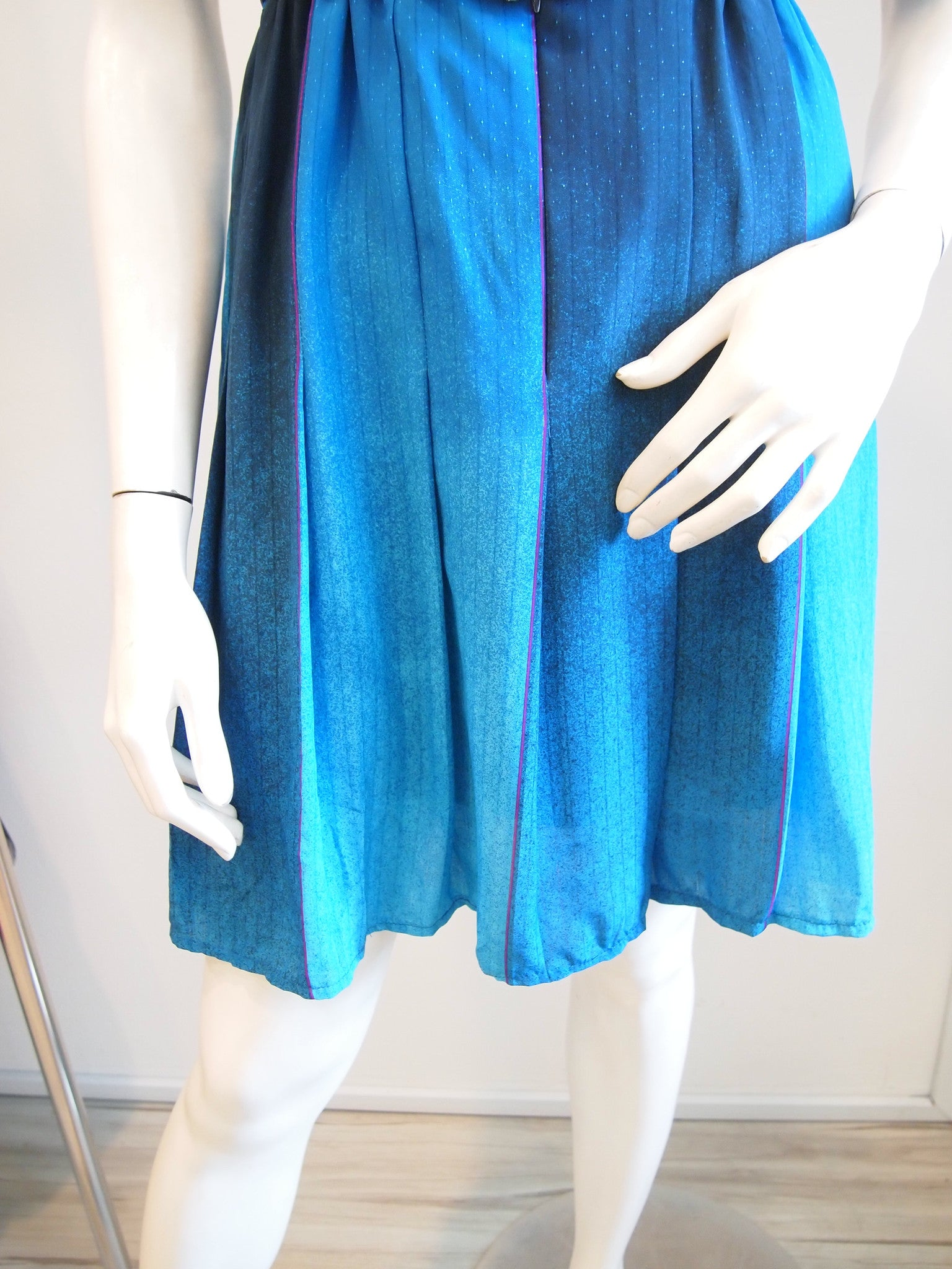 Shades of blue dress vintage