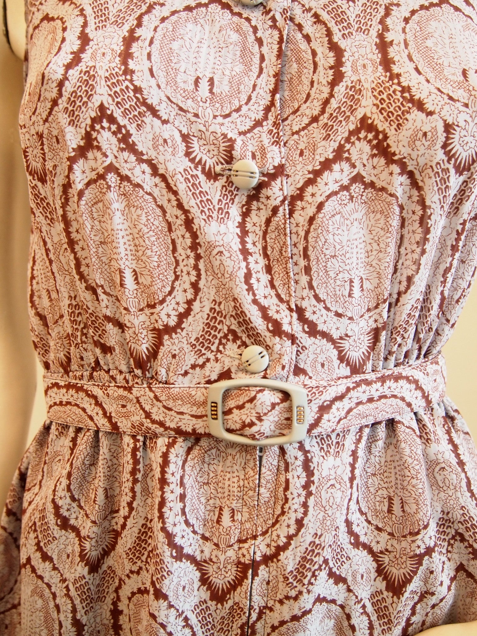 The Baroque Vintage Dress