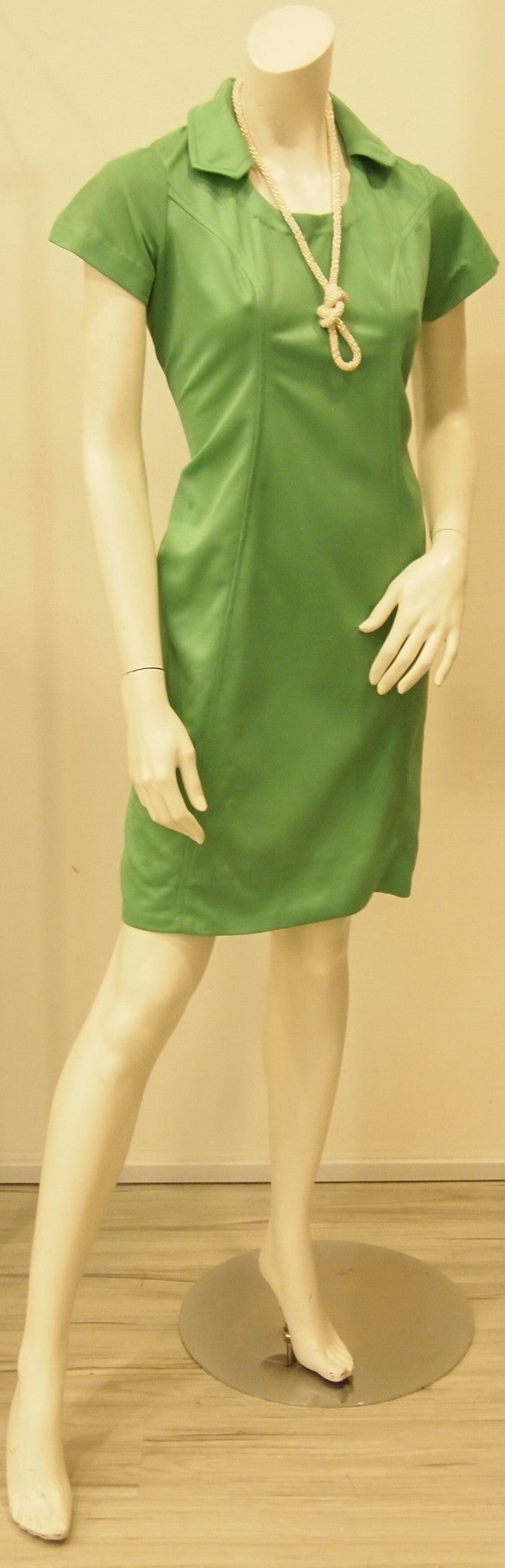 Green Spaces60s Mod Vintage Dress