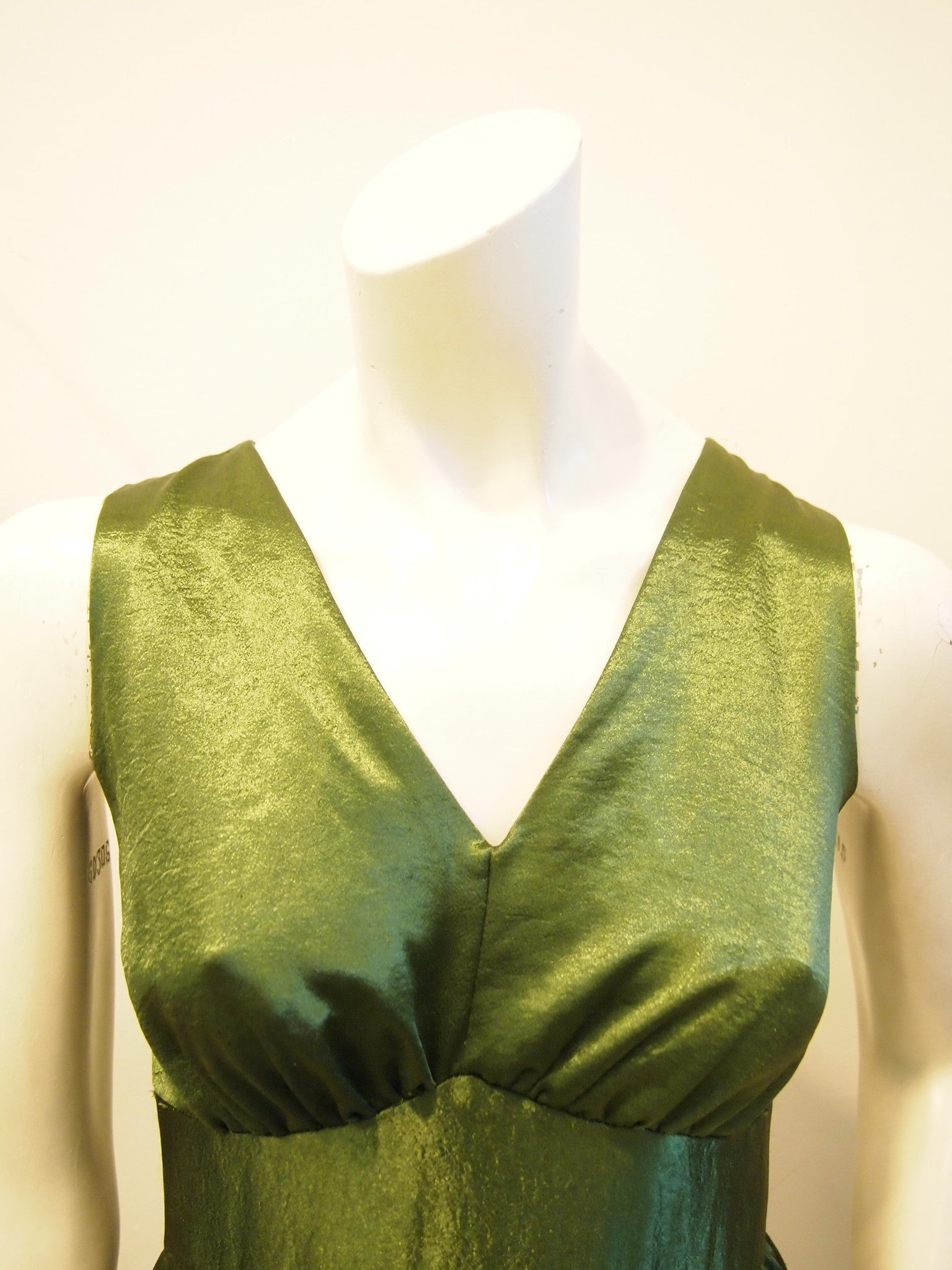 Emerald Sparkle Vintage Dress