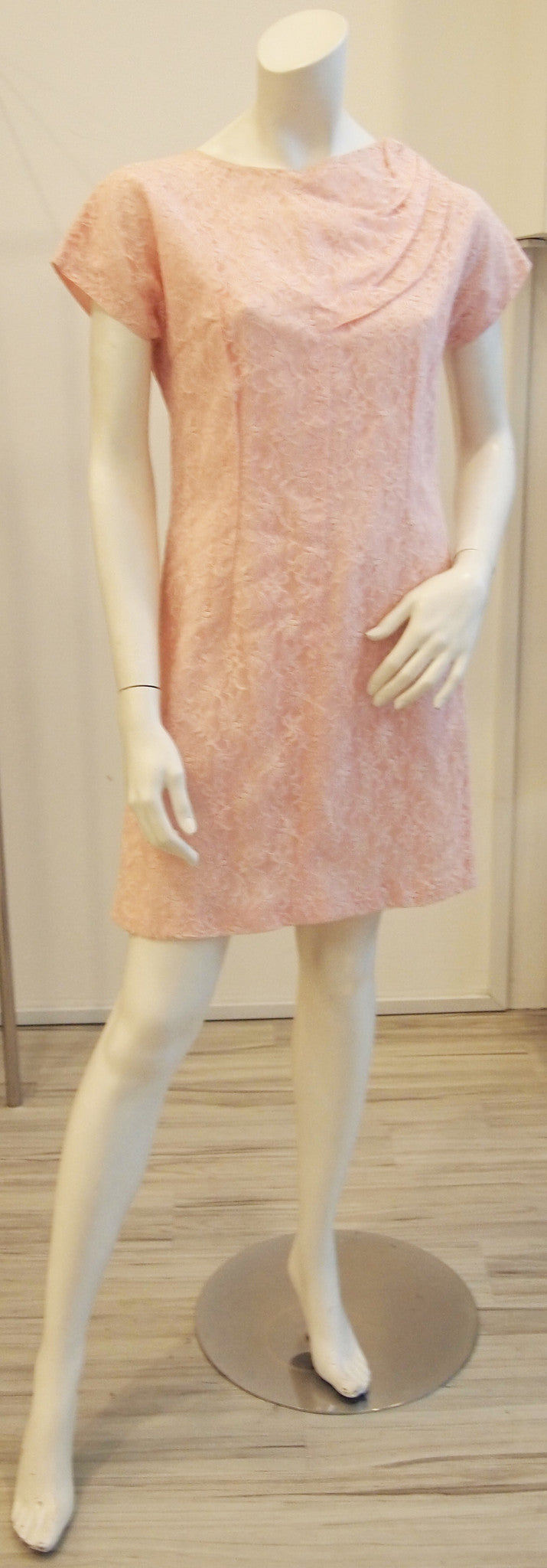 Not Just A Pretty Face Vintage Lace Dress In Pink