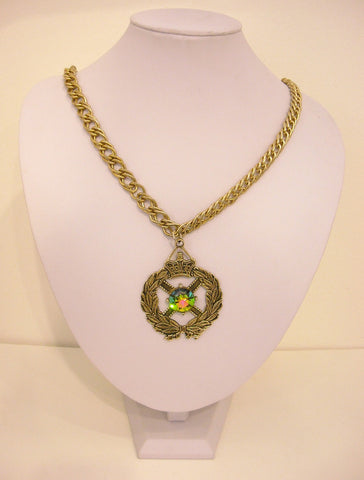 The Royal Crest Vintage Necklace
