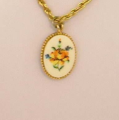 Sweet Bouquet Vintage Necklace